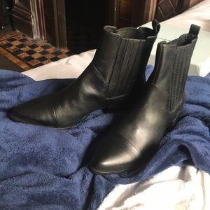 Vagabond Chelsea Boots Black Leather